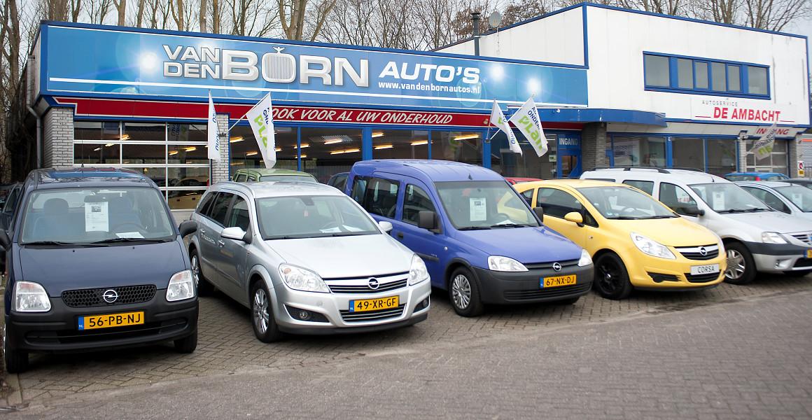 Het adres voor gebruikte auto's in Den Helder - Van den Born
